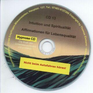 Hypnose CD - Intuition und Spiritualität Screenshot