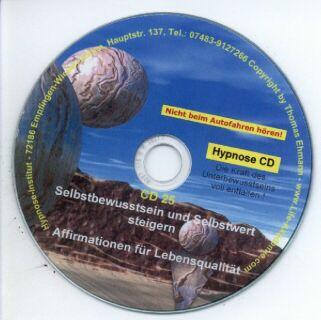 Hypnose CD - Selbstbewusstsein und Selbstwert steigern Screenshot