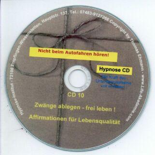 Hypnose CD - Zwänge ablegen - frei leben! Screenshot