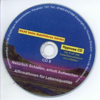 Hypnose CD - Natürlich Schlafen - erholt aufwachen Screenshot