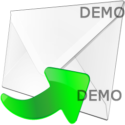 Envelope Icon with Arrow pointing to the Right Screenshot