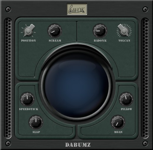 daBUMZ Drumsynth VST Plugin Screenshot 1
