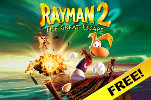 Rayman 2: The Great Escape - FREE Screenshot 1