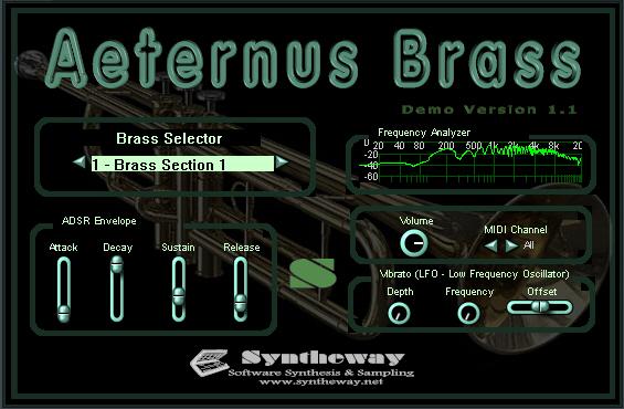 Syntheway Aeternus Brass VSTi Screenshot 2