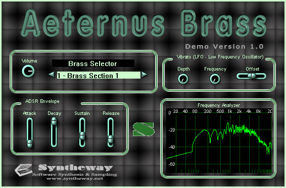 Syntheway Aeternus Brass VSTi Screenshot 1