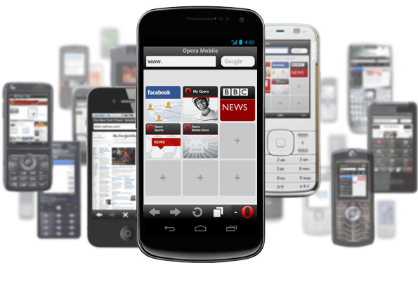 Download Opera Mini Web Browser 7 for Windows Mobile