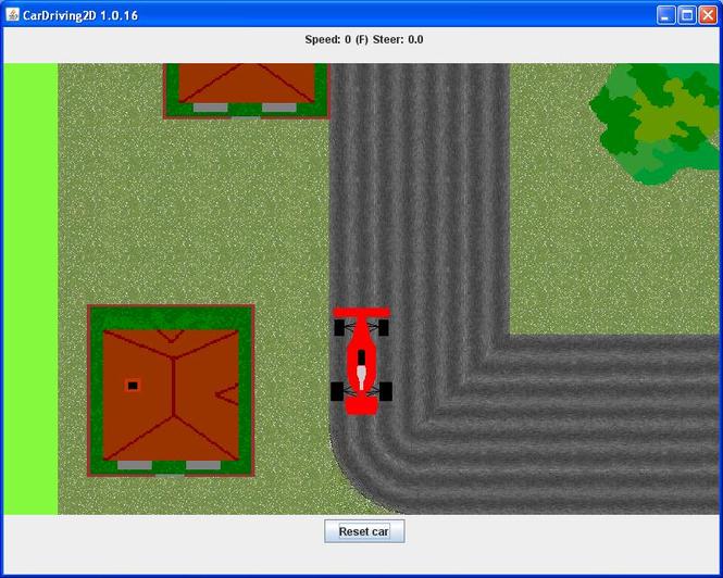 CarDriving2D Screenshot