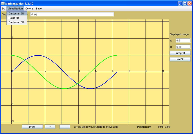graphfunctions Screenshot 2