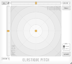 ELASTIQUE Pitch Plugin Screenshot 1