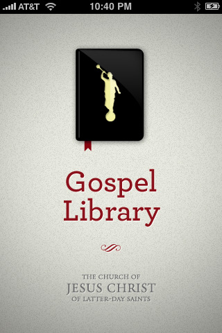 LDS Gospel Library Screenshot