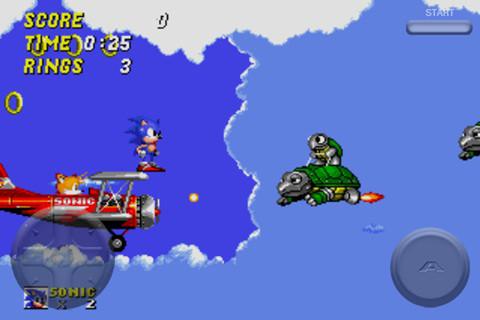Sonic the Hedgehog 2 Screenshot 2