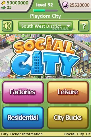 Social City Screenshot