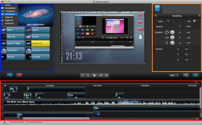 Camtasia Studio Screenshot 2