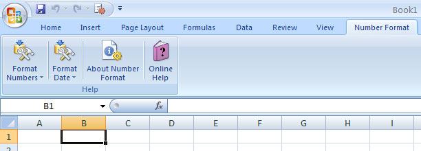 Excel Number Date Format Screenshot