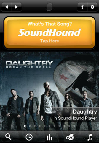 SoundHound Screenshot