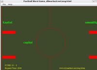 Desktop English German Football Game Screenshot 1