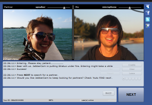 Chatroulette Clone Screenshot