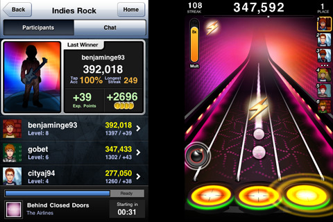Tap Tap Revenge 3 Boost Screenshot