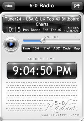 5-0 Radio Police Scanner Lite Screenshot
