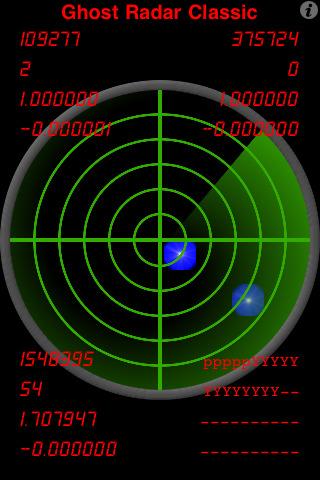 Ghost Radar Classic Screenshot