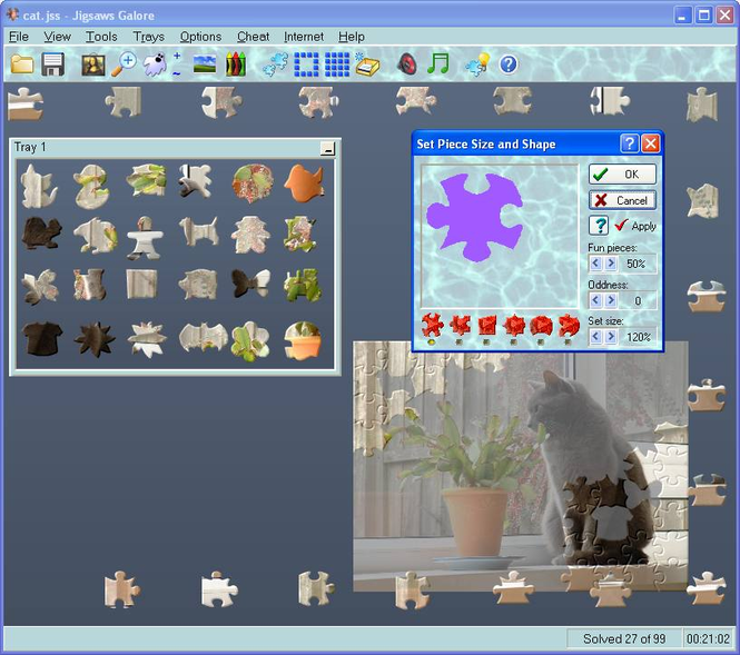 Jigsaws Galore Screenshot 1