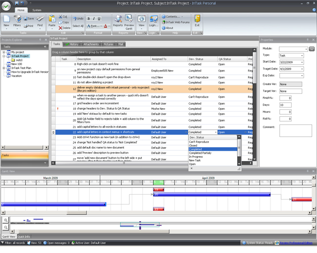 InTask Professional Screenshot