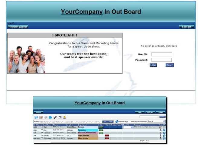 BC In Out Board Screenshot 1