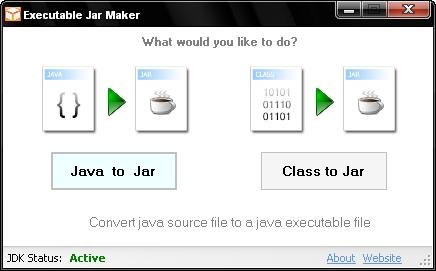 Executable Jar Maker Screenshot 1