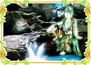 Avalokitesvara at Waterfall Screenshot