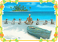Meditate on the Beach with six Dalmatian Screenshot