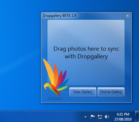 Dropgallery Screenshot