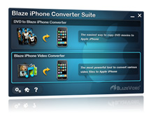 BlazeVideo iPhone Converter Suite Screenshot 1