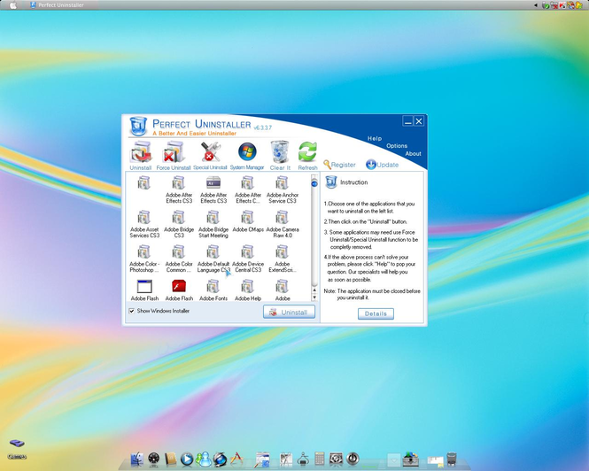 Perfect Uninstaller Screenshot 2