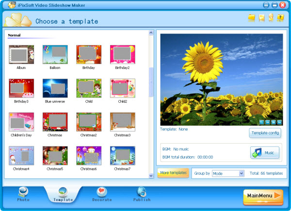iPixSoft Video Slideshow Maker Deluxe 3.5.3.0 2016 screenshot.png