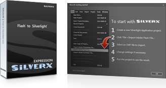 SilverX Expression Screenshot