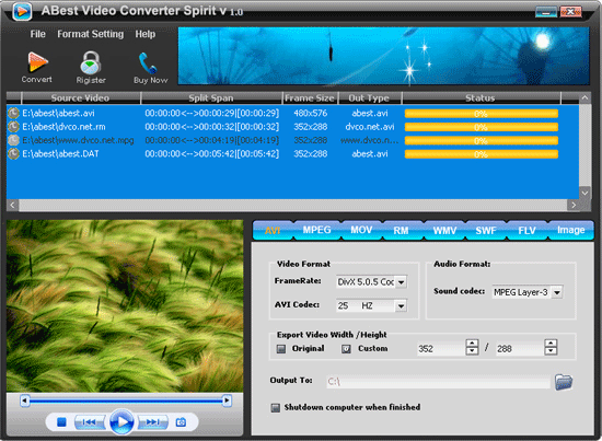 How much is a ABest MPEG VCD DVD Video Converter license?