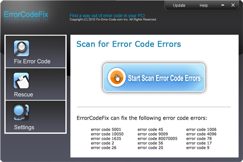 ErrorCodeFix Screenshot 1