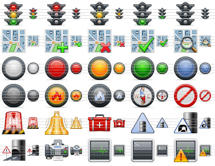 Standard Road Icons Screenshot