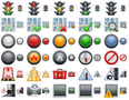 Standard Road Icons 1