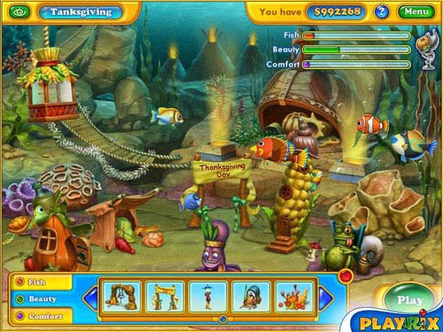 Fishdom: Seasons under the Sea Screenshot 1