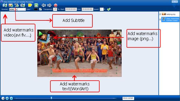 Video Watermark Subtitle Creator Standard Edition Screenshot 2