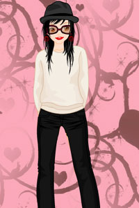 Barbie Doll Dress Up Game Screenshot