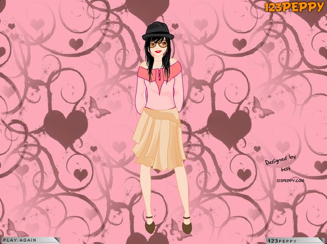 Barbie Doll Dress Up Game screenshot