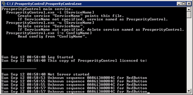 ProsperityControl Screenshot