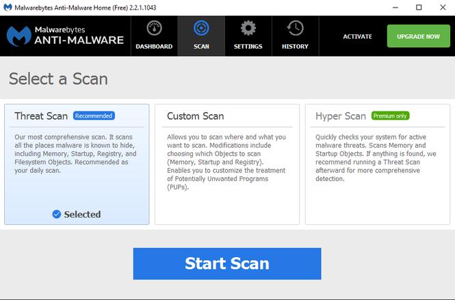 Malwarebytes Anti-Malware Screenshot 3