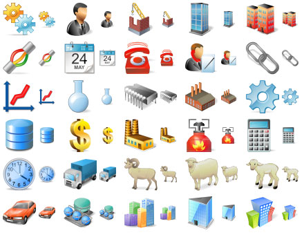 Large Factory Icons Screenshot