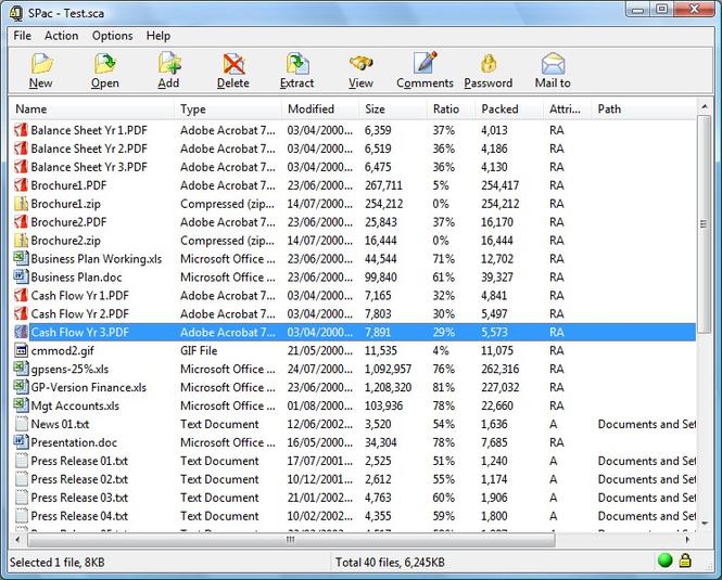 SPac Screenshot