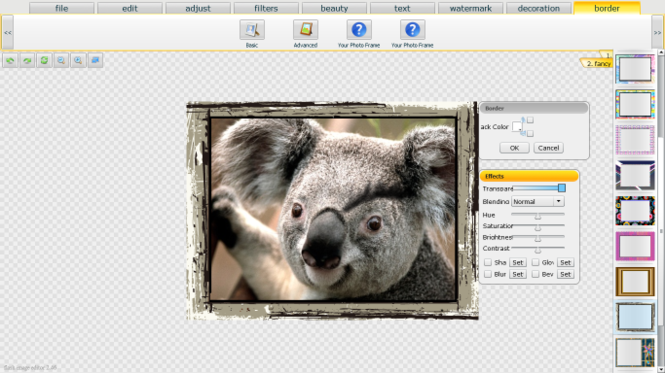 Photocoolex Flash Image Editor Script Screenshot