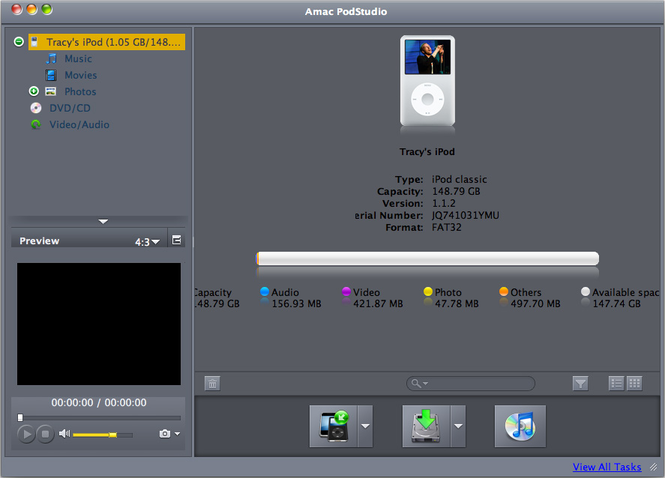 Amac PodStudio Screenshot 1