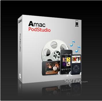 Amac PodStudio Screenshot 2